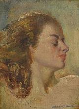 KINGSLEY, Garrett (1915-1982) Study of a Young