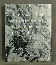 BOOK, 'The Complete Etchings of Norman Lindsay,'