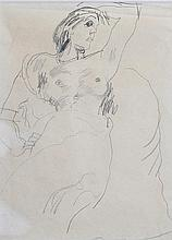 GRANT, Duncan (British 1885-1978) Vanessa Bell &