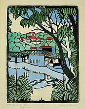PRESTON, Margaret (1875-1963) 'Mosman Bridge NSW.'
