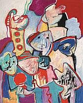 JAN COBBAERT 1909 - 1995 Belgian School CARNIVAL