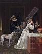 FLORENT WILLEMS 1823 - 1905 Belgian School LEAVING, Florent Willems, Click for value