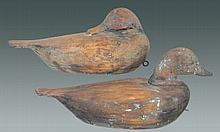 Pair of Hollow Ct River Decoys