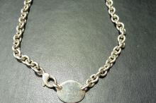 Pre-owned sterling silver Tiffany & Co necklace