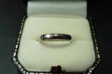 Pre-owned platinum band