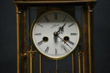 A rare vintage 19th century German clock
