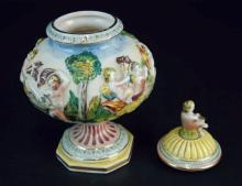 An Italian antique Jar