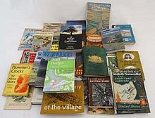 Books: A collection of 30 books on the English countryside and Natural History.