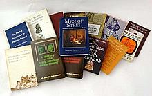 Books: A collection of 14 books on Historic medical treatment and surgery. To in