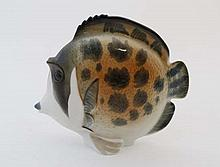 A c1970s large '' Lomonsov '' USSR ceramic fish, bears factory stamp and made in
