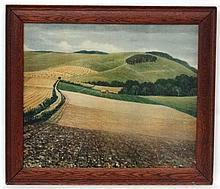 After C R W Nevinson (1889-1946) ARA Coloured print ' The Peaceful Rhythm o