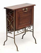 Mid Century / Hollywood Regency :    An unusual Music cabinet  probably Edw