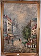 Caroline Burnett (XX) Oil on canvas Parisian, Caroline C. Burnett, Click for value