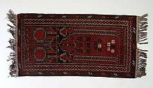 Carpet / Rug : A handmade woollen prayer rug
