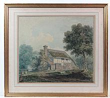 Thomas Hosmer Shepherd (1793-1864) Watercolour An