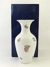 Herend : a Hungarian boxed baluster shaped vase