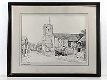 Jess Beazley XX Pencil ' Wrotham Church Wrotham,
