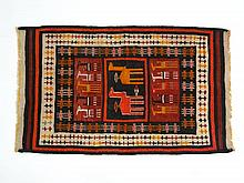 Carpets / Rugs: A Peruvian style woollen kilim