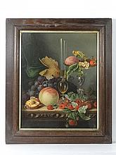 After Edward Ladell A Pears Chromolithograph Still