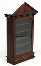 A 19th C Walnut Collectors / Specimen cabinet. The