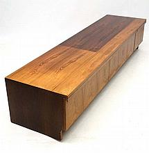 Vintage Retro :  A Danish rosewood? Long low wall