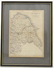 Maps: '' East Yorkshire Railways '' having some ha