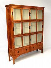 Singapore dresser : A hardwood glazed cabinet with
