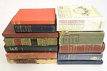 Books: A collection of approximately 12 General Kn