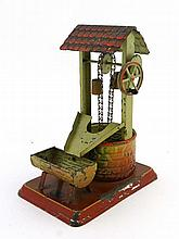 Toy : A Bing Tinplate model working wind driven