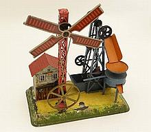 Toy : A Bing tinplate Aggregates Machine , wind
