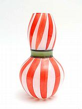 Vintage Retro : a Kosta Boda Studio Glass red