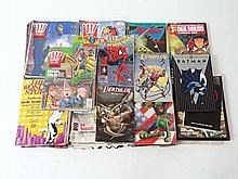 Comics : A large collection of late 20thC Comic