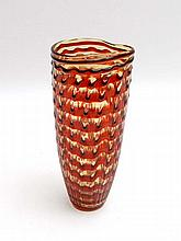Vintage Retro : a contemporary red banded clear