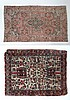 Carpets / Rugs : A hand woven woollen rug with