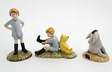 A set of three figurines from the Royal Doulton 70