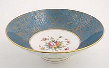 A late 20th/21stC Minton bone china bowl, having b