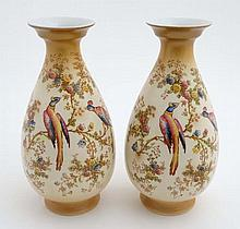 A pair of early 20thC A G R and Co ltd, Crown Duca