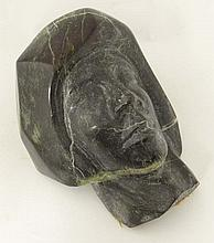Serpentine : An unusual Cornish carved head