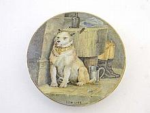 A 19thC F & R Pratt Pot Lid entitled ' Low Life ',