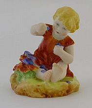 A Royal Worcester 'mischief' child figurine,