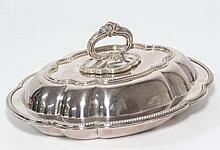 A late 19thC / early 20thC silver plate entree