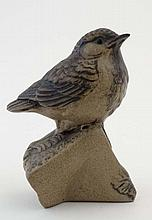 Poole Pottery : A Poole stoneware model of a '' Bird on a br