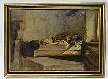 Jean Pierre Alexandre Antigna (1817-1878) French
