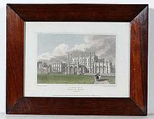 H. Hobson after JP Neale (1780-1847) Hand coloured