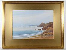 Bolton Robins 1911 Cornish School Watercolour and