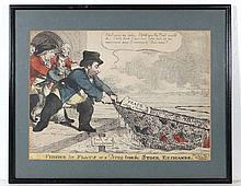 Charles Williams 1806 Political / Satirical hand