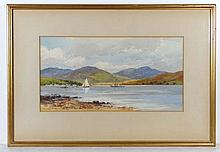 W Inglis Weir early to mid XX Watercolour and