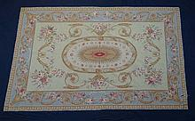 Carpet / Rug - Abusson woollen carpet with a
