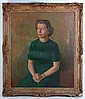 Early XX Portrait Oil on canvas Portrait of a lady
