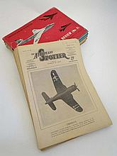 Books : Magazine : A collection of c1946/7 magazines 'The Aeroplane' (29) + 4 volumes of The Aeroplane Pictorial Review